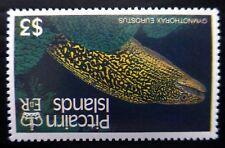 PITCAIRN ISLAND 1988 Fish $3 SG313w Sideways Inverted/WMK U/M NC1832