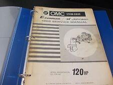 1968 OMC Stern Drive Evinrude Johnson Service Repair Manual 383359  120HP