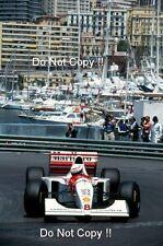 Martin López McLaren MP4/9 Grand Prix de Mónaco 1994 fotografía