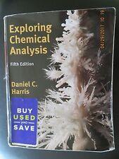 Exploring Chemical Analysis by Harris, Daniel C.