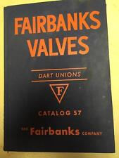 Fairbanks Valves Catalog 1956 ~ Asbestos Packing and Discs