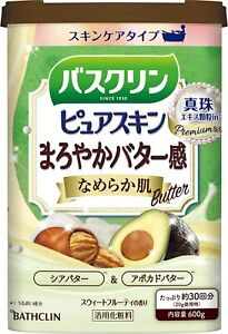 Earth Japan BATHCLIN Pure Skin Bath Salt 600g Butter Shea butter Avocado butter