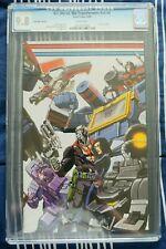 GI Joe vs Transformers #4 Art of War (2006) CGC 9.8 Club Udon exclusive variant!