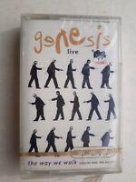 Genesis Live The Way We Walk Cassette Made in Saudi Arabia Brand New & Sealed