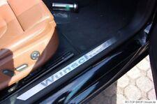 Edelstahl Einstiegsleisten BMW E30 E36 E46 E90 E91 E39 E60 X3 X5 Wunschtext