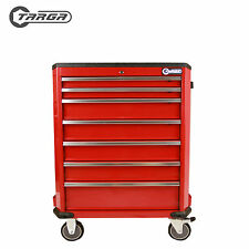 "TARGA 28"" Roller cabinet MECHANICS TOOL CHEST tool box trolley RED"