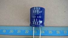 Chemi-Con 680Uf 63V Electrolytic Radial Capacitor New Lot Quantity-10