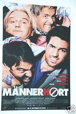 Männerhort Film Cast 20x30cm Fot + 4 Autogramm In Person  inkl. Elyas M'Barek
