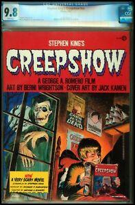 Stephen King's Creepshow CGC 9.8 HTF Horror Magazine History White Pages