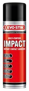 500ml Evo Stik High Strength Impact Spray Contact Adhesive Multi-Purpose Glue