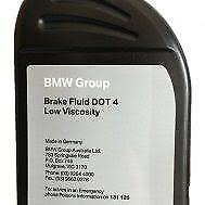 Genuine BMW Brake Fluid DOT3 Dot 4 500ml 83130042718