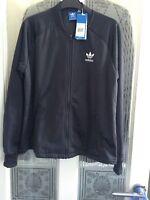 Adidas 100%Genuine Stock Ladies Carbon Track Jacket  BNWT Size S  RRP £80