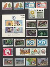 (Rp85) Philippines - 1985 Complete Stamp Sets+ S/S. Muh