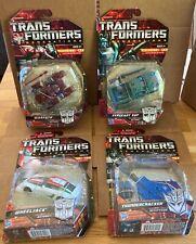 Transformers Generations lot of 4. Thundercracker, Warpath, Wheeljack, Kup. MISB