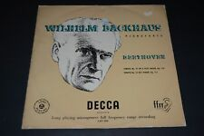 Wilhelm Backhaus~Beethoven: Sonata No. 31 in A Flat Minor~Sonata No 32~UK IMPORT