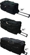 "30""/36""/42"" Rolling Duffle Bag Travel Wheeled Suitcase Luggage - Heavy Duty"