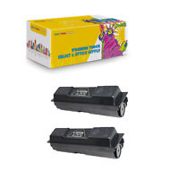 2PK Compatible TK132 Black Toner Cartridge For Kyocera Mita FS-1028mfp FS-1128