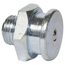 M10 x 1,0 [10 Stück] DIN 3404 Ø22mm Flachschmiernippel Stahl verzinkt