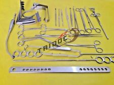 Tonsillectomy Set of 27 pcs Surgical Instruments Best Quality Stainless Steel
