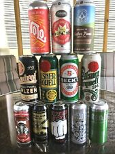 12 pk tall boys 16oz empty beer cans