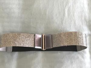 ZB35 Jet Black Cut Faux Stone Silver tone belt buckle Victorian swirl