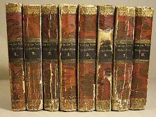C. F. VAN DER VELDE: SÄMTLICHE SCHRIFTEN, 8 Bände, 1828, Erstausgabe, komplett