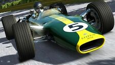 in metallo RACER FORD LOTUS 1960s F 1 antica T 18 VINTAGE 24 INDY 500 43 Modello