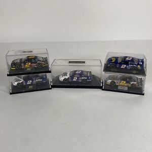 Lot of 5 Rusty Wallace Miller Lite Genuine Draft 1/64 Diecasts 1990s Good Cond