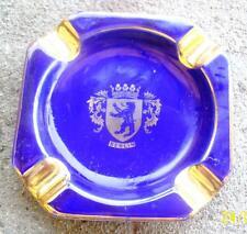 VINTAGE ROYAL BAVARIA COBALT BLUE BERLIN CHINA ASHTRAY