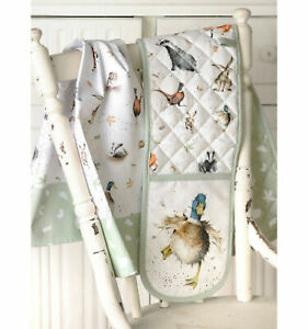 Wrendale Designs Animal Oven Glove ,Gauntlet, Aprons, Tea Towel or Tea Cosy