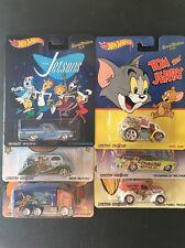 Hot Wheels Pop Culture Series Flintstones Yogi Bear Jetsons Scooby Doo