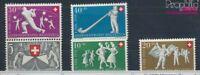 Schweiz 555-559 postfrisch 1951 Pro Patria (7387781