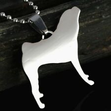 Stainless Steel Shar Pei Chinese Shar-Pei Sharpei Pet Charm Pendant Necklace