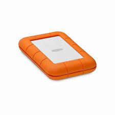 Lacie Rugged 1.0 TB/2.5 pulgadas/USB-C/USB 3.0/naranja/disco duro externo