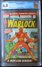 Marvel Premiere #1 (1972) CGC 6.0 Warlock, high grade Marvel Premiere #2 VF/NM