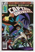 MARVEL SPOTLIGHT #9 Newsstand FN+ First Appearance Mister E - Captain Universe