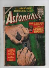 Astonishing #41 - The Locked Room! - Atlas/Marvel - (Grade 2.0) 1955
