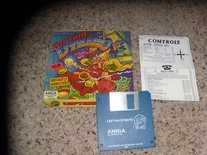 "Captain Dynamo Commodore Amiga 3.5"" disk with box and insert"