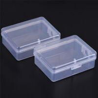 2Pcs Petit Présentoir En Plastique De Boîte De Rangement En Plastique FE