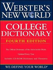 NEW - Webster's New World College Dictionary, Fourth Edition (Book with CD-ROM)
