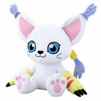 Large Big Toy Digital monster Digimon Tailmon Plush Stuffed Doll Toy 20'' Gift
