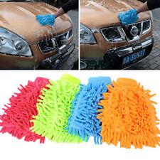 Microfibre Car Wash Washing Shampoo Cleaning Mitt Glove Polishing Cloth Duster