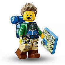 LEGO - Minifigure Series 16 - HIKER - Mint Minifig Mini Figure