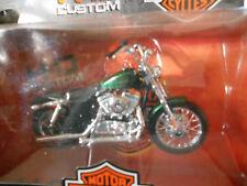 HARLEY DAVIDSON 2012 XL 1200V Seventy Two Metallic green  SERIES #32 new in box