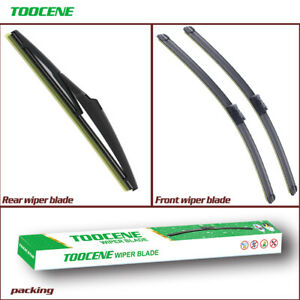 Front and Rear Windshield Wiper Blades for Hyundai Veracruz 2007-2012 New