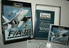 F/A 18 SIMULATOR GIOCO USATO OTTIMO STATO PC CDROM VERSIONE ITALIANA FR1 40517