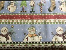 All Hearts Come Home For Christmas Beige 100% cotton Fabric Border print