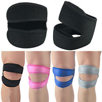New Gym Running Knee Kneecap Patella Support Brace Strap Tendon Band Protector
