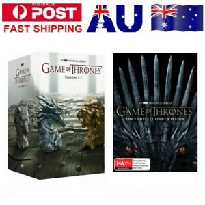 Game Of Thrones The Complete Season 1-8 Box Set Complete Series1 2 3 4 5 678 DVD