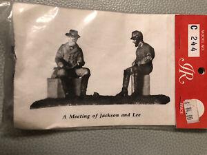 Imrie Risley: General Thomas Jackson, CSA.  54mm Metal Kit